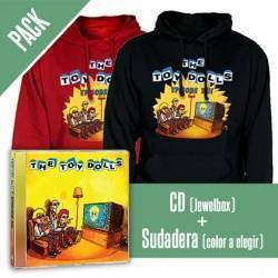 "THE TOY DOLLS - PACK [CD ""Episode XIII"" + SUDADERA]"