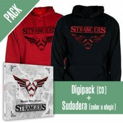 "STRANGERS - PACK [Digipack ""Brand New Start"" + SUDADERA]"