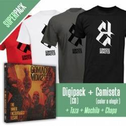 "GOMAD! & MONSTER - SUPER PACK [CD ""The Inner Encouraged Desire"" + CAMISETA+ Taza + Mochila + Chapa]"