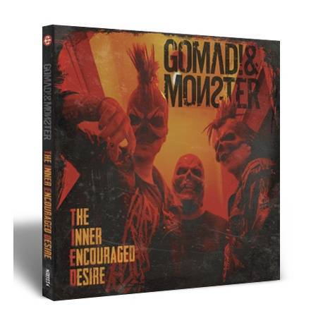 "GOMAD! & MONSTER - Digipack ""The Inner Encouraged Desire"""