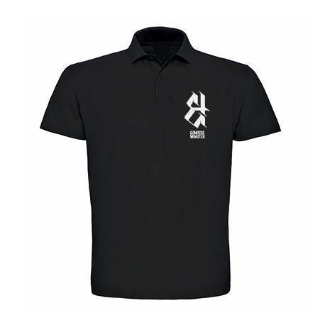 "GOMAD! & MONSTER - Polo negro ""Logo"""
