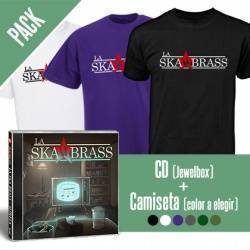 "LA SKA BRASS - PACK [CD ""Mírela"" + CAMISETA]"