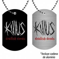"KILLUS - Colgante ""Logo Devilish Deeds"""