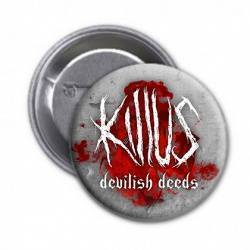 "KILLUS - Chapa ""Logo Devilish Deeds"""