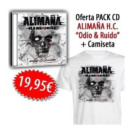 "ALIMAÑA HC - PACK [CD ""Odio & ruido"" + CAMISETA + CALENDARIO]"
