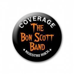 THE BON SCOTT BAND - Coverage (Logo)