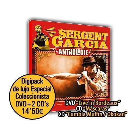 "SERGENT GARCIA - ""Anthologie"" Doble CD + DVD + Poster de regalo"