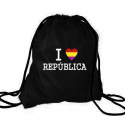 "MOCHILA - ""I Love Republica"""