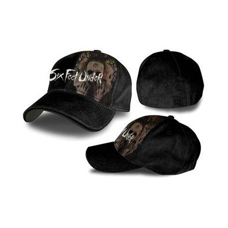 SIX FEET UNDER - Gorra Ajustable Negra
