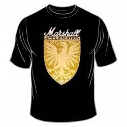 MARSHALL - Camiseta M/C Negra 'Eagle'
