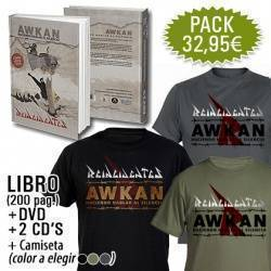 "REINCIDENTES - PACK [Libro + DVD + 2 CD's ""Awkan"" + CAMISETA]"