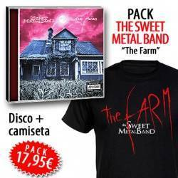 "THE SWEET METAL BAND - PACK [CD ""The Farm"" + CAMISETA]"