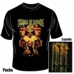 CRADLE OF FILTH - Camiseta M/C Negra 'Tour 2005'