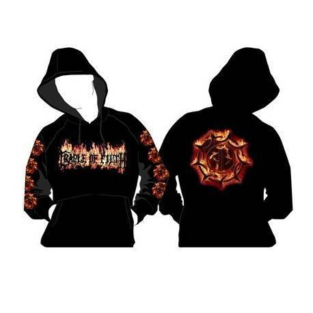 CRADLE OF FILTH - Sudadera 'Flames'