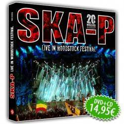 "SKAP - DVD + CD ""Live In Woodstock Festival"""