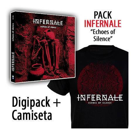 "INFERNALE - PACK [CD ""Echoes Of Silence "" + CAMISETA]"