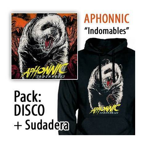 "APHONNIC - PACK [CD ""Indomables"" + SUDADERA]"