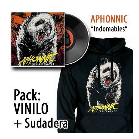 "APHONNIC - PACK [VINILO ""Indomables"" + SUDADERA]"