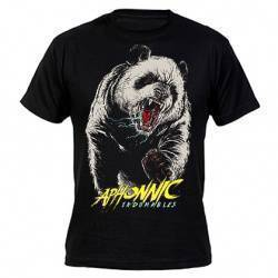 "APHONNIC - Camiseta negra ""Indomables"""