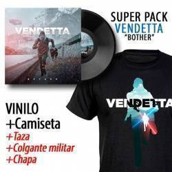"VENDETTA - SUPERPACK [VINILO ""Bother"" + CAMISETA + Taza + Colgante + Chapa]"