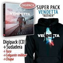 "VENDETTA - SUPERPACK [CD ""Bother"" + SUDADERA + Taza + Colgante + Chapa]"