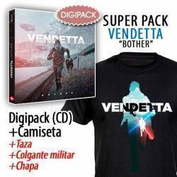 "VENDETTA - SUPERPACK [CD ""Bother"" + CAMISETA + Taza + Colgante + Chapa]"
