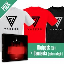 "VADEBO - PACK [CD ""La Por"" + CAMISETA]"