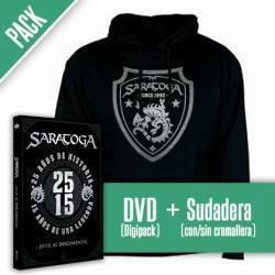 "SARATOGA - PACK [DVD ""25/15 El Documental""+ SUDADERA]"