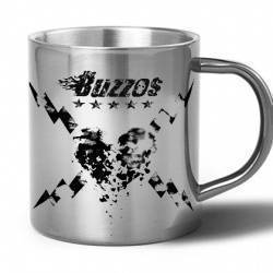 "THE BUZZOS - Taza metálica ""Red"""