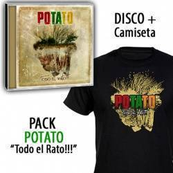 "POTATO - PACK CD ""Todo el rato!!!"" + CAMISETA"
