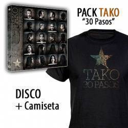 "TAKO - PACK [CD ""30 Pasos"" + CAMISETA]"