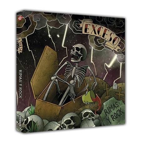 "EXCESO - Digipack doble ""Rimas y Rock"""